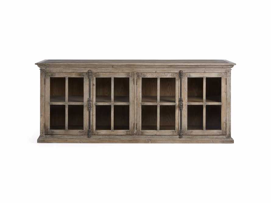 """Chorus Theory 80"""" Media Console in Earl Grey, slide 8 of 9"""