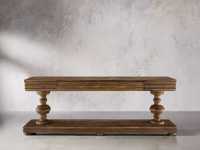 """Chorus Theory 95"""" TV Console in Barnwood Natural"""