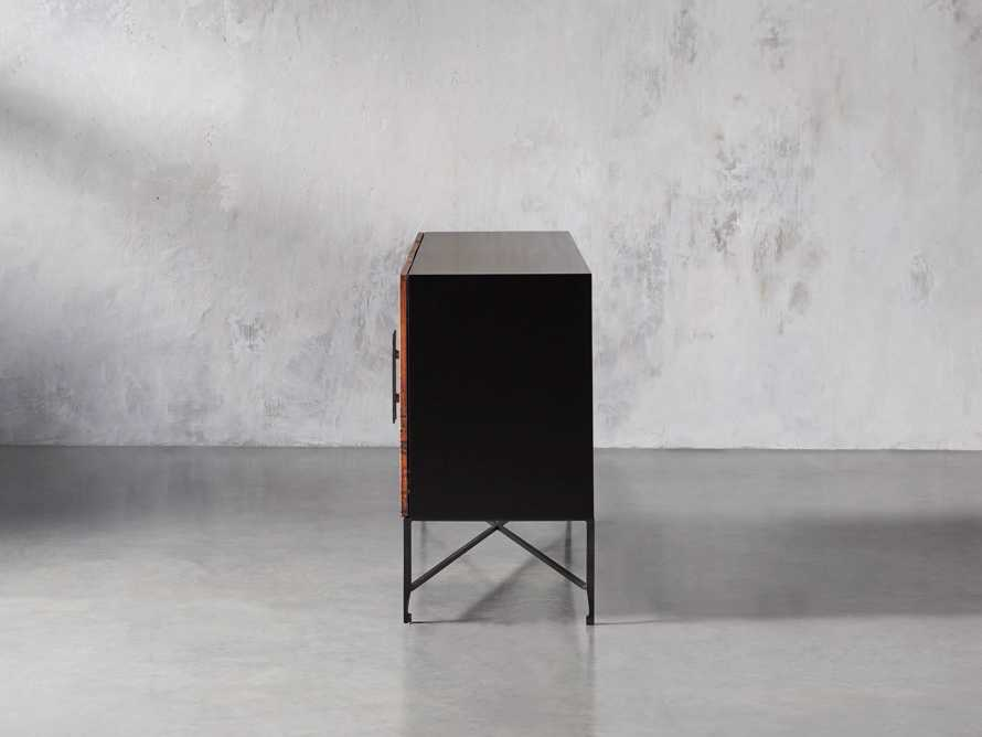 "Cahlo 69"" Copper Media Console, slide 4 of 9"