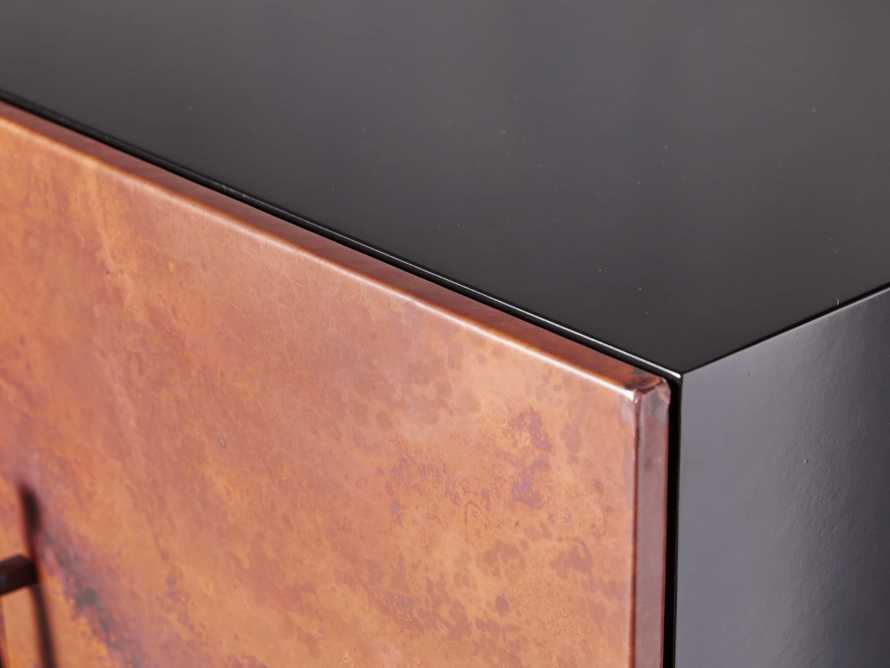 "Cahlo 69"" Copper Media Console, slide 7 of 9"