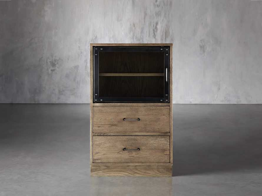 Curiosity Modular 2 Cubby Cabinet In Natural
