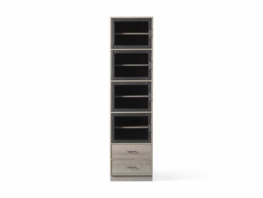 Curiosity Modular 5 Cubby Cabinet in Pebble Grey, slide 4 of 4