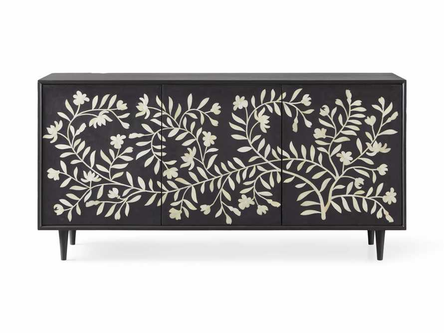 "Divya 64"" Media Console in Ebony, slide 5 of 5"