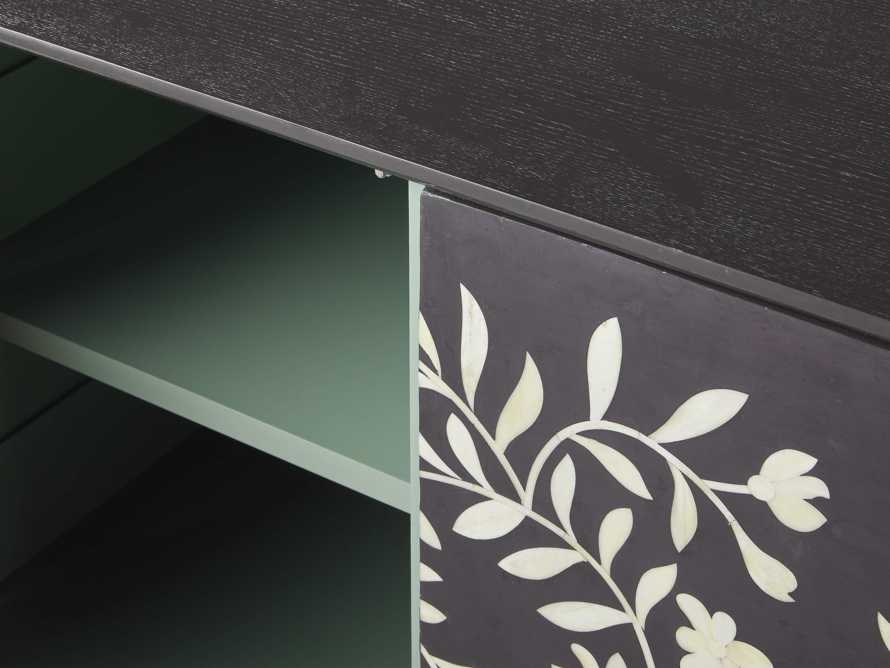 "Divya 64"" Media Console in Ebony, slide 4 of 5"