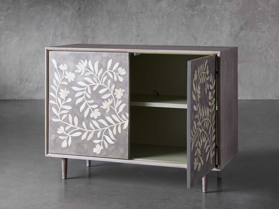 "Divya 43"" Two Door Cabinet in Dusk, slide 3 of 8"