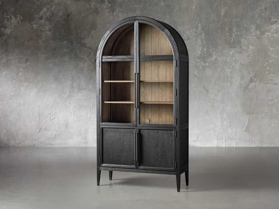 Hattie Cabinet in Ebony, slide 2 of 7