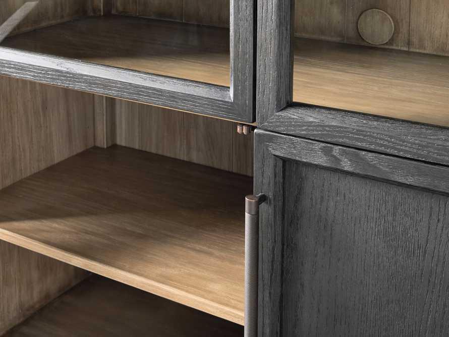Hattie Cabinet in Ebony, slide 3 of 7
