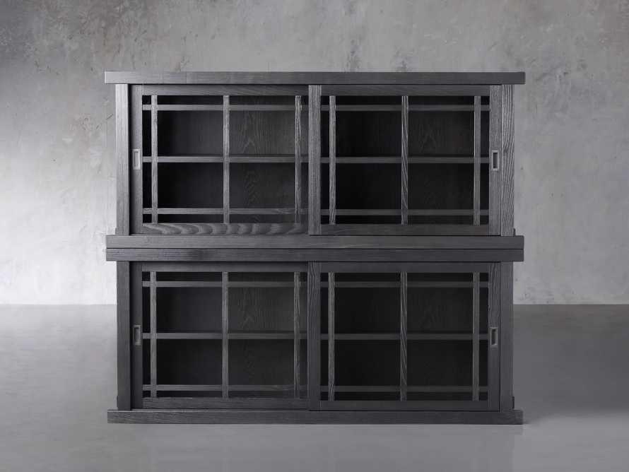 "Spencer 71"" Double Cabinet in Ebony, slide 1 of 4"