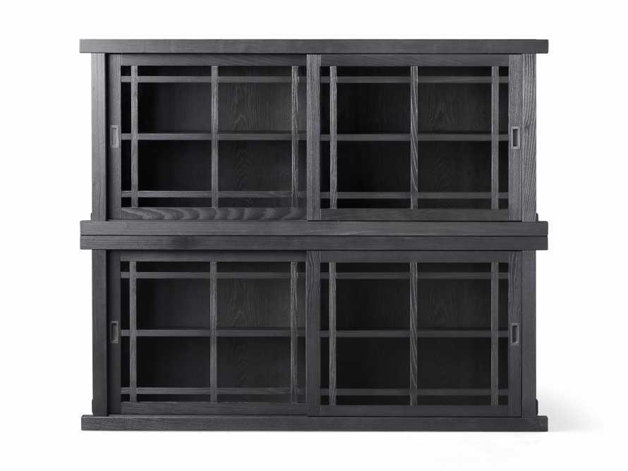 "Spencer 71"" Double Cabinet in Ebony, slide 4 of 4"