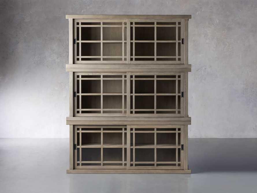 "Sullivan 71"" Triple Cabinet in Shiitake, slide 1 of 4"