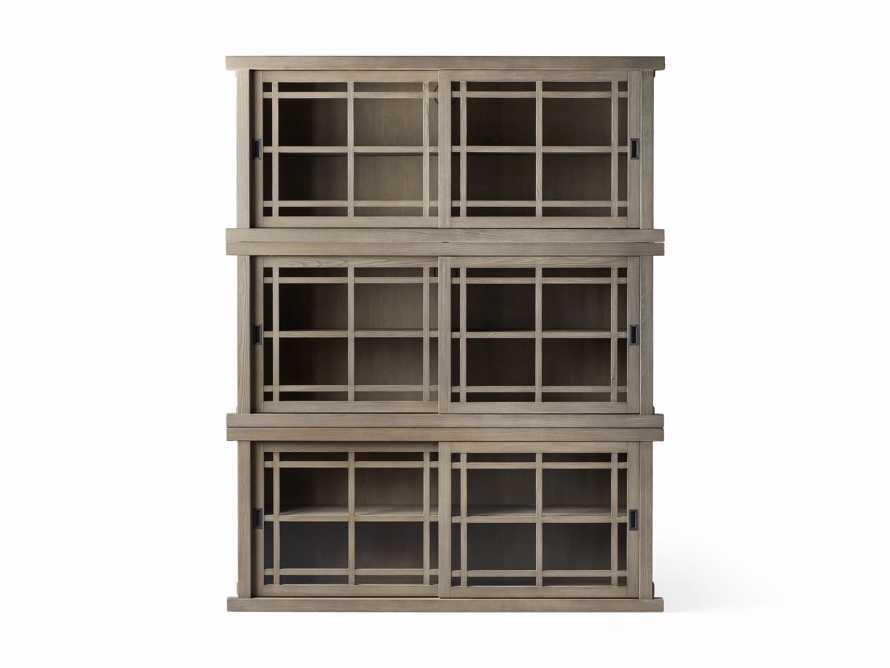 "Sullivan 71"" Triple Cabinet in Shiitake, slide 4 of 4"
