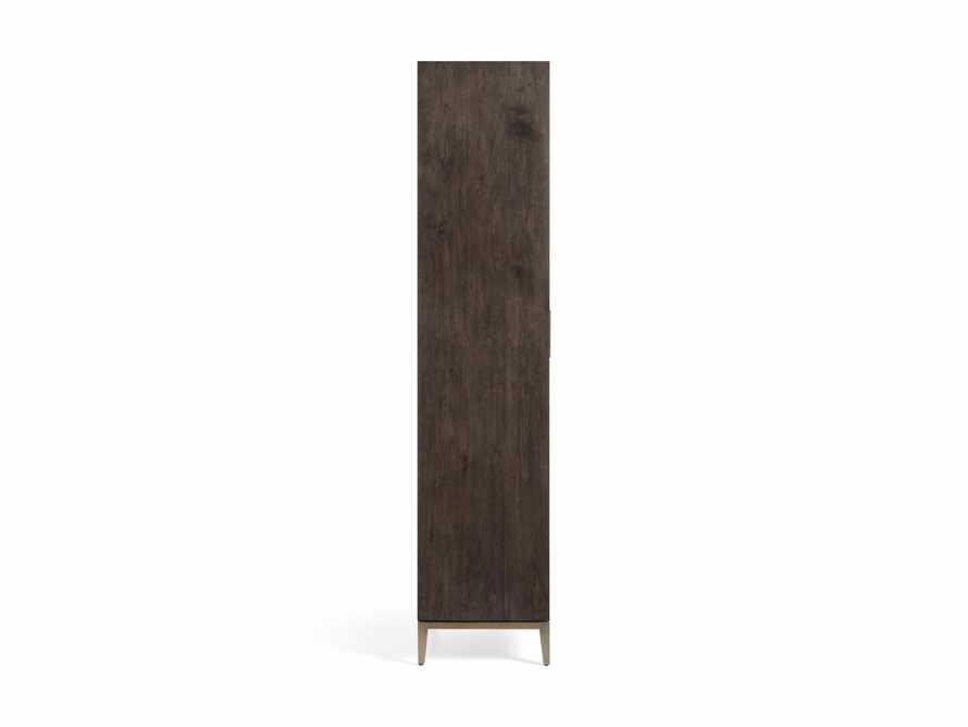 "Malone 38"" Display Cabinet with Glass Doors in Dark Walnut, slide 8 of 8"