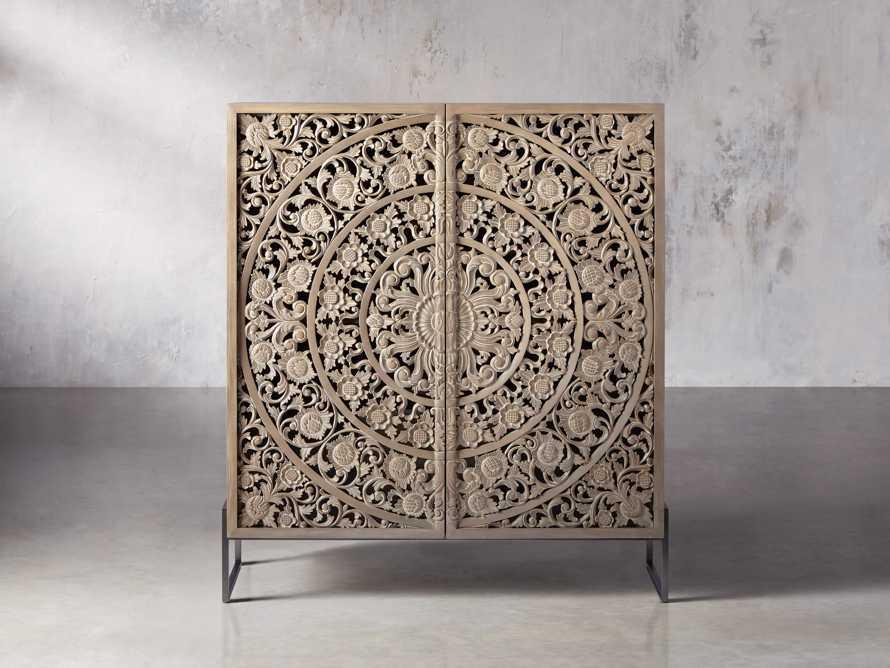 """Mandara 51"""" Cabinet in Jepara Natural"""