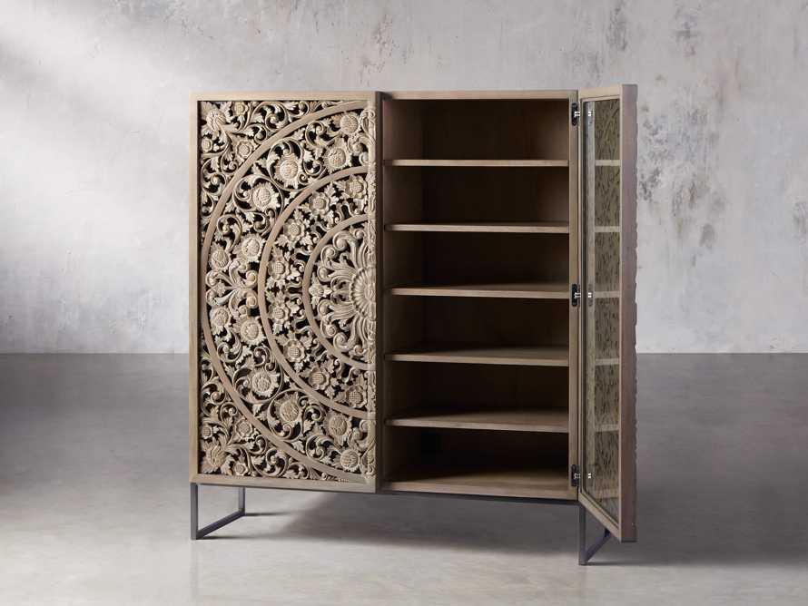 """Mandara 51"""" Cabinet in Jepara Natural, slide 4 of 11"""