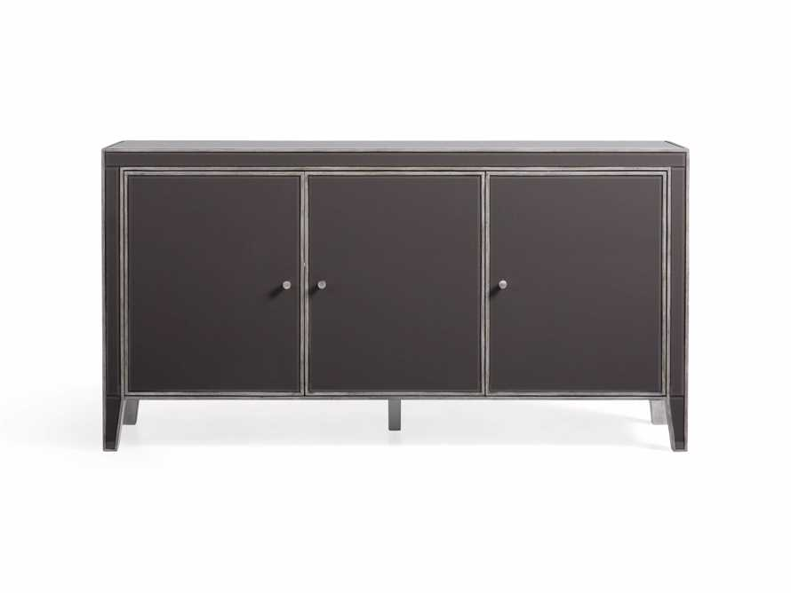 Reese 3-Door Cabinet in Galleria Grey