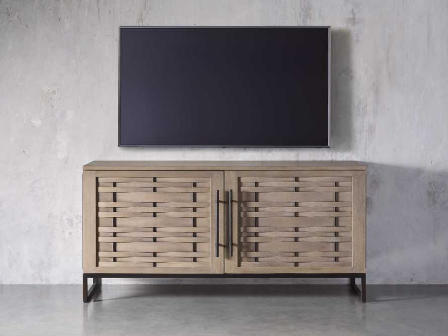 "Reye 67"" Media Cabinet in Cove Almond, slide 3 of 5"