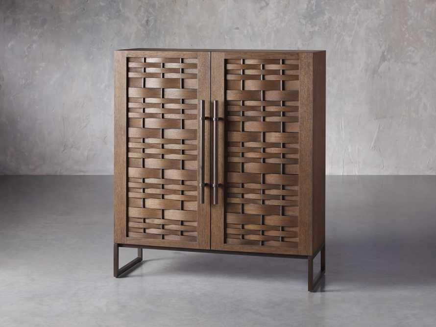 "Reye 48"" Cabinet in Smoked Bronze, slide 2 of 4"
