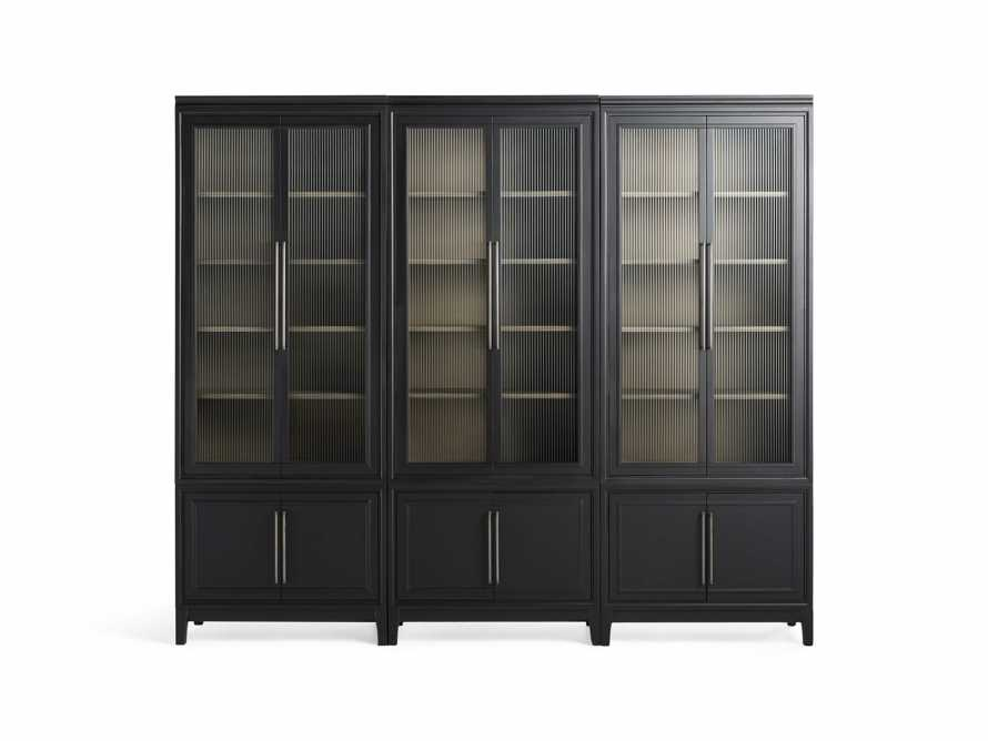 "Rowan Modular 105"" Triple Cabinet in Scoria Black, slide 10 of 10"