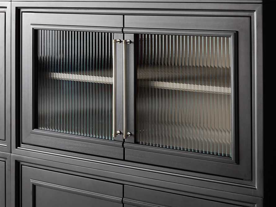 "Rowan Modular 105"" Large Descending Wall Unit in Scoria Black, slide 7 of 8"