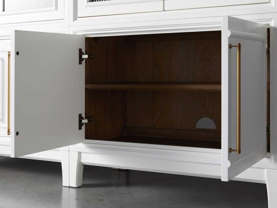 "Rowan Modular 105"" Descending Wall Unit in Cirrus, slide 9 of 10"