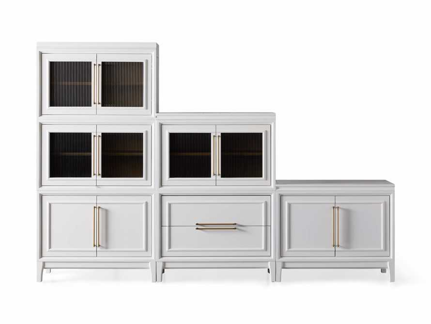 "Rowan Modular 105"" Descending Wall Unit in Cirrus, slide 10 of 10"