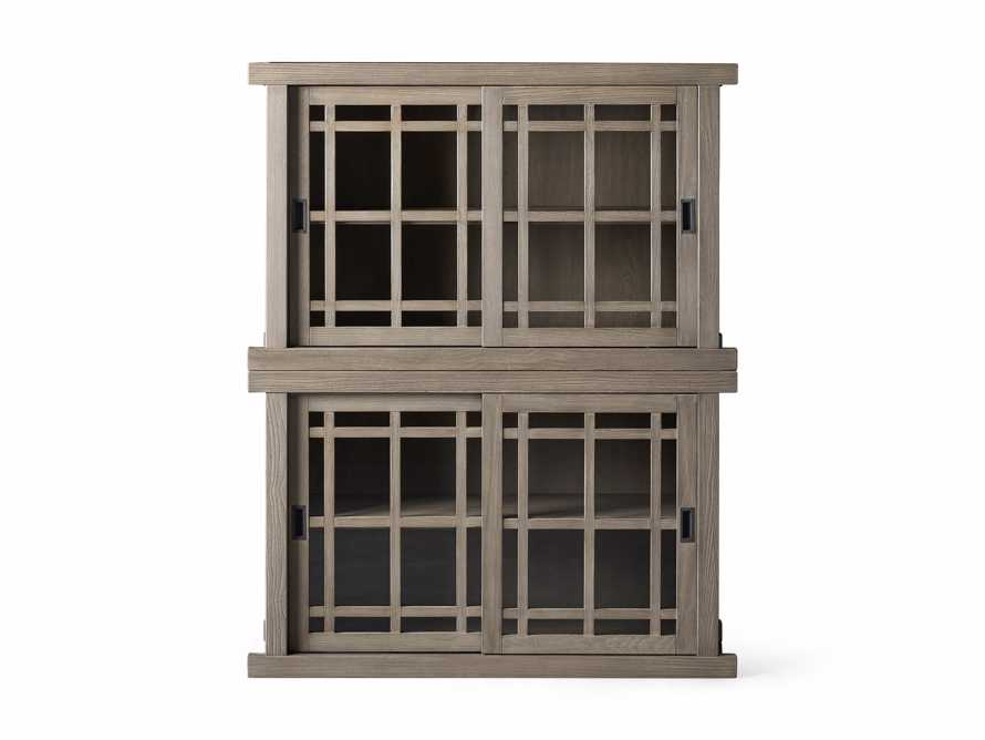 """Spencer 48"""" Double Cabinet in Shiitake, slide 4 of 4"""