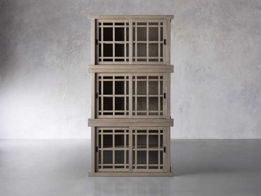 "Spencer 48"" Triple Cabinet in Shiitake, slide 1 of 4"