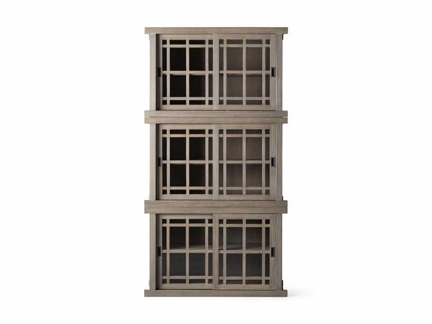 "Spencer 48"" Triple Cabinet in Shiitake, slide 4 of 4"