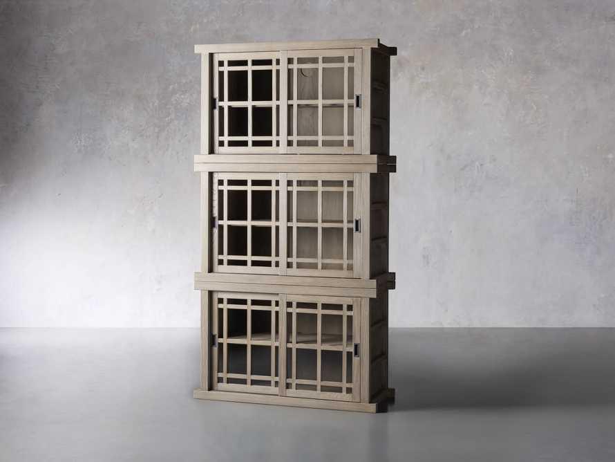 "Spencer 48"" Triple Cabinet in Shiitake, slide 2 of 4"