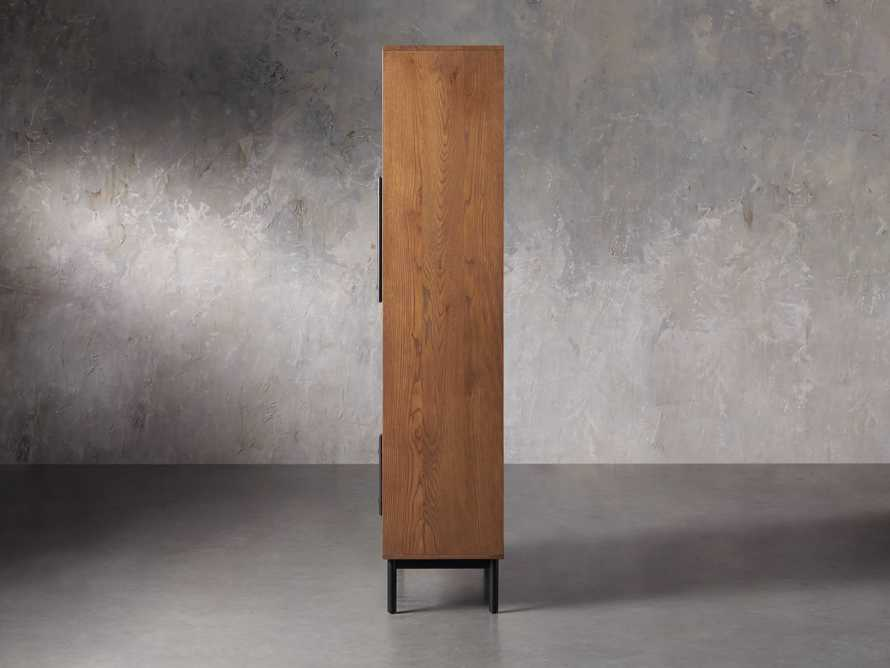 """Sullivan 44"""" Display Cabinet in Northman Oak, slide 4 of 9"""