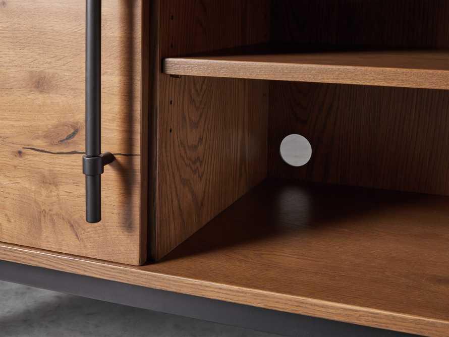 """Sullivan 44"""" Display Cabinet in Northman Oak, slide 6 of 9"""