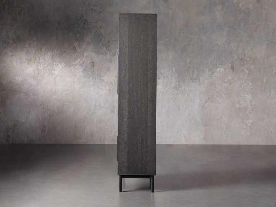 "Sullivan 44"" Display Cabinet in Northman Cinder, slide 4 of 9"