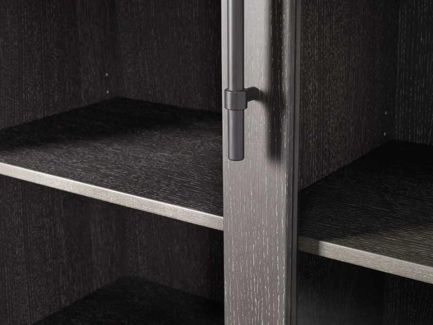 "Sullivan 44"" Display Cabinet in Northman Cinder, slide 6 of 9"