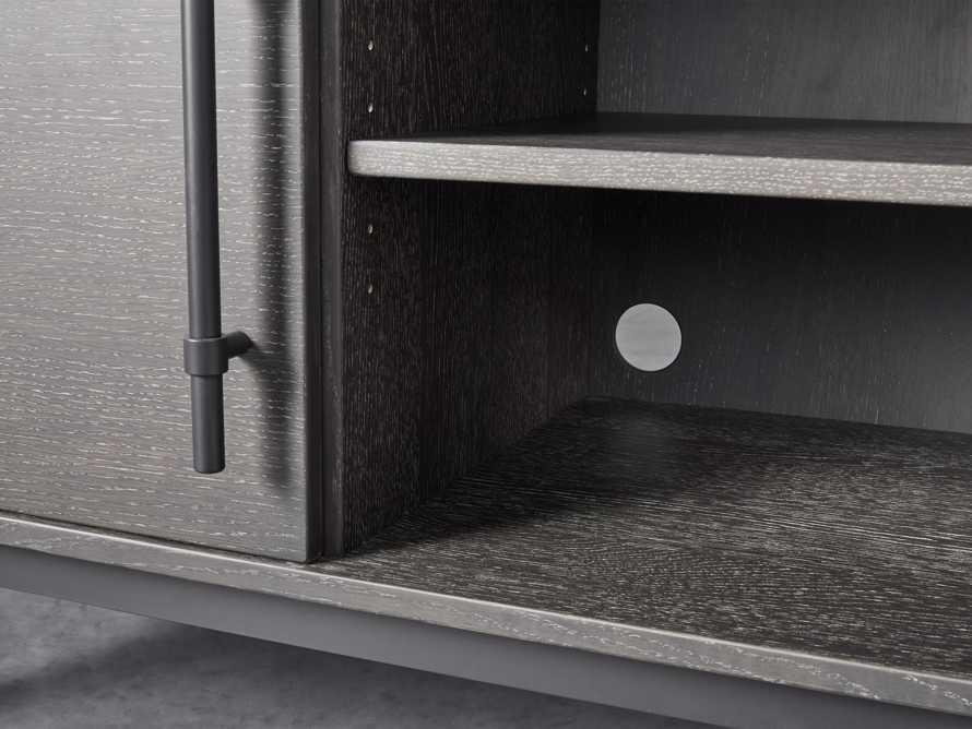 "Sullivan 44"" Display Cabinet in Northman Cinder, slide 5 of 9"