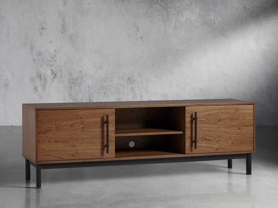 "Sullivan 80"" Media Console in Northman Oak, slide 3 of 11"