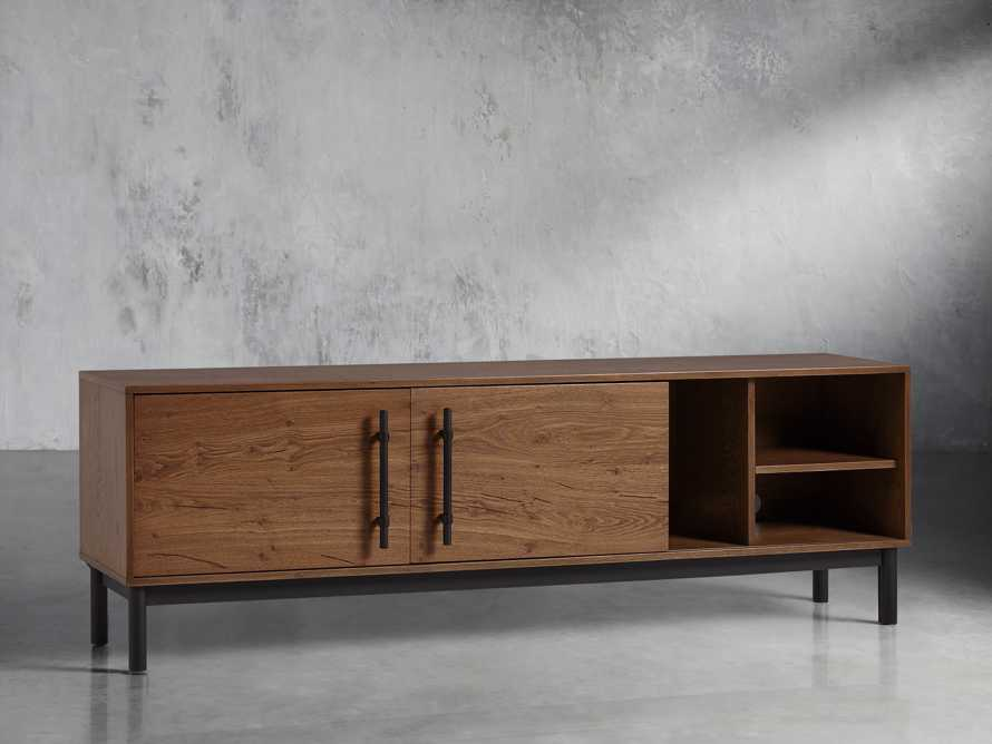 "Sullivan 80"" Media Console in Northman Oak, slide 4 of 11"