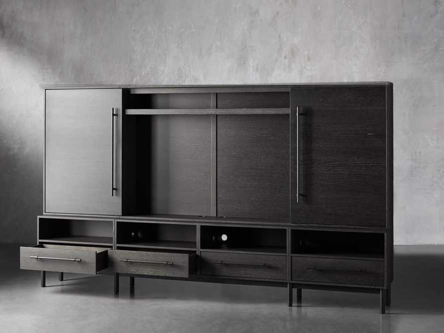 "Sullivan 126"" Wall Unit in Grey"