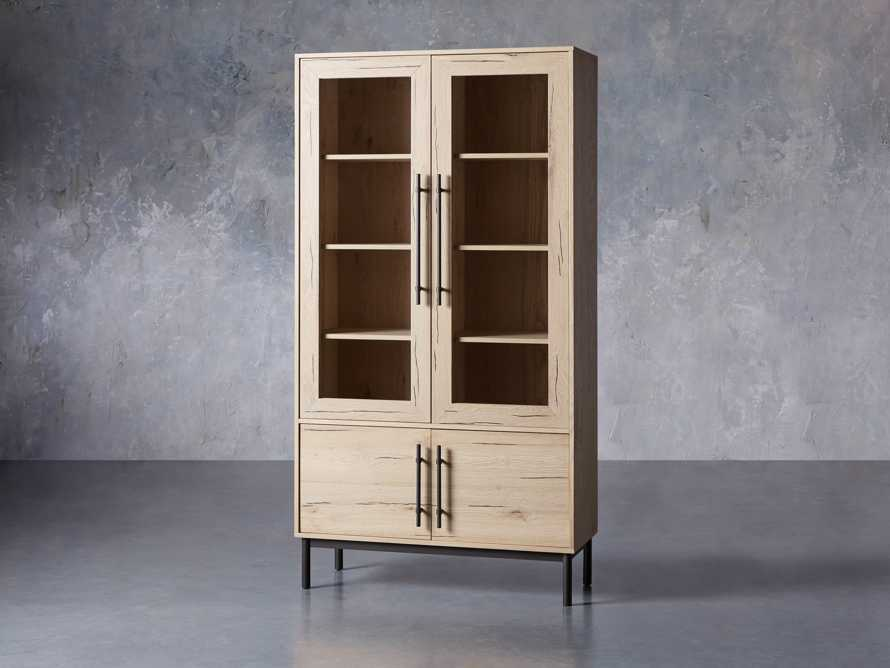 "Sullivan 44"" Display Cabinet in Northman Sable, slide 2 of 11"
