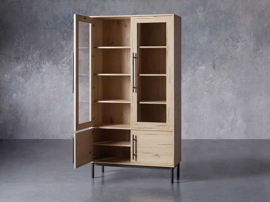 "Sullivan 44"" Display Cabinet in Northman Sable, slide 3 of 11"
