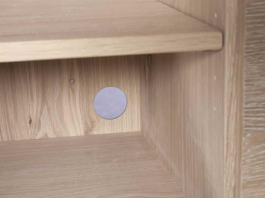 "Sullivan 44"" Display Cabinet in Northman Sable, slide 6 of 11"