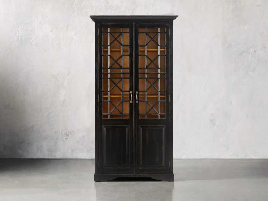 Taja Belle Tall Cabinet in Black
