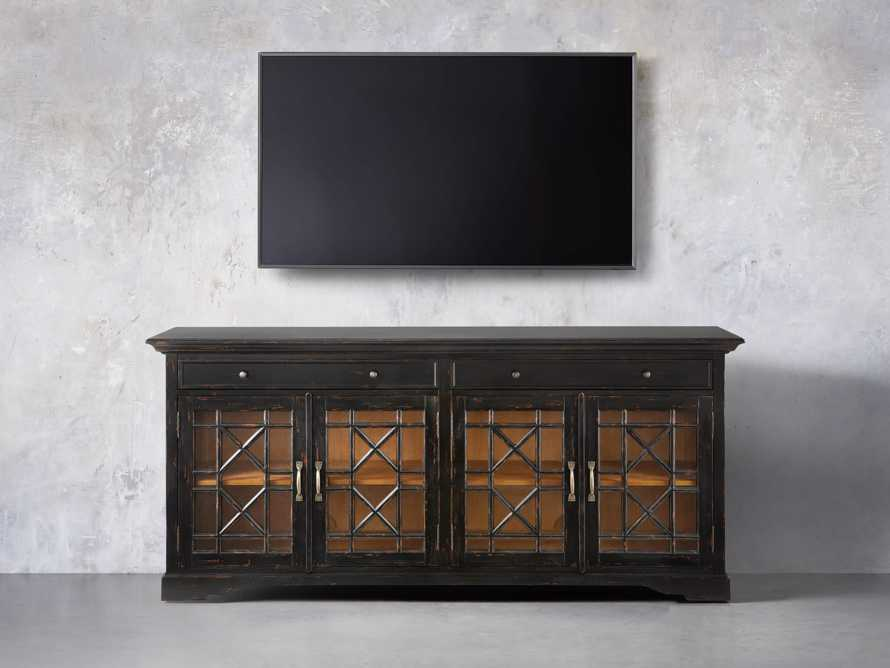 Taja Belle Media Console In Black