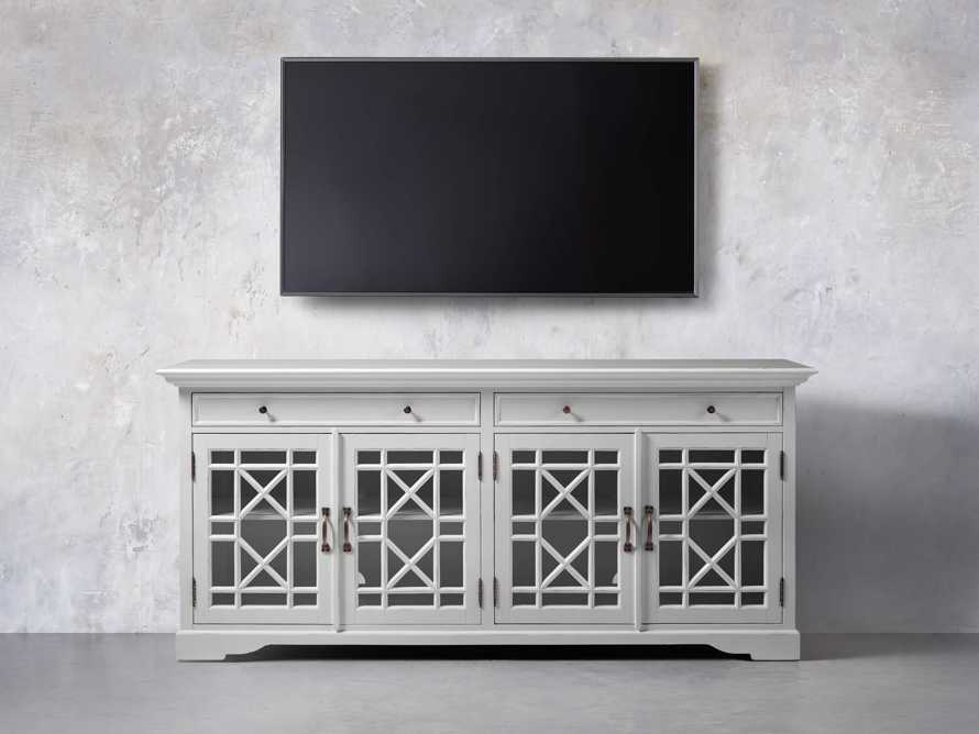 Taja Belle Media Cabinet in Nimbus, slide 5 of 7