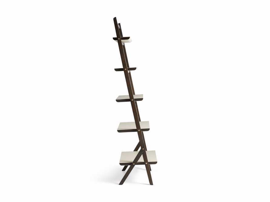 "Torre 37"" Bookcase in Cream, slide 8 of 8"