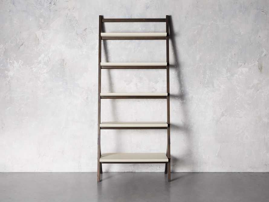 "Torre 37"" Bookcase in Cream, slide 1 of 8"
