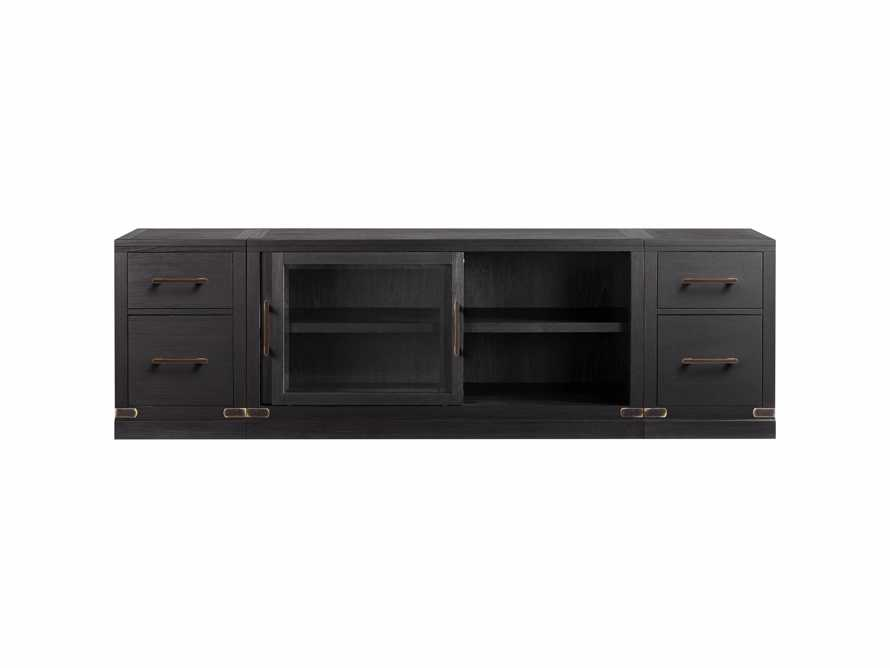"Tremont Modular 100"" Media Console in Dry Branch Black, slide 4 of 4"