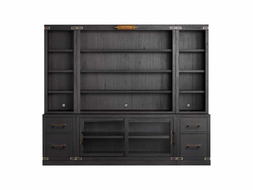 "Tremont Modular 100"" Wall Unit in Dry Branch Black, slide 2 of 3"