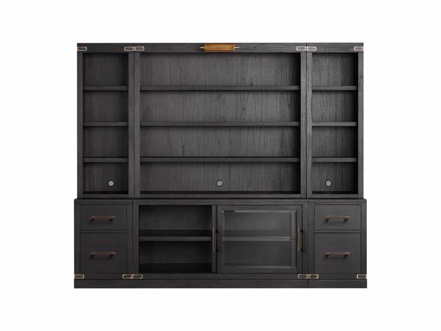 "Tremont Modular 100"" Wall Unit in Dry Branch Black, slide 3 of 3"