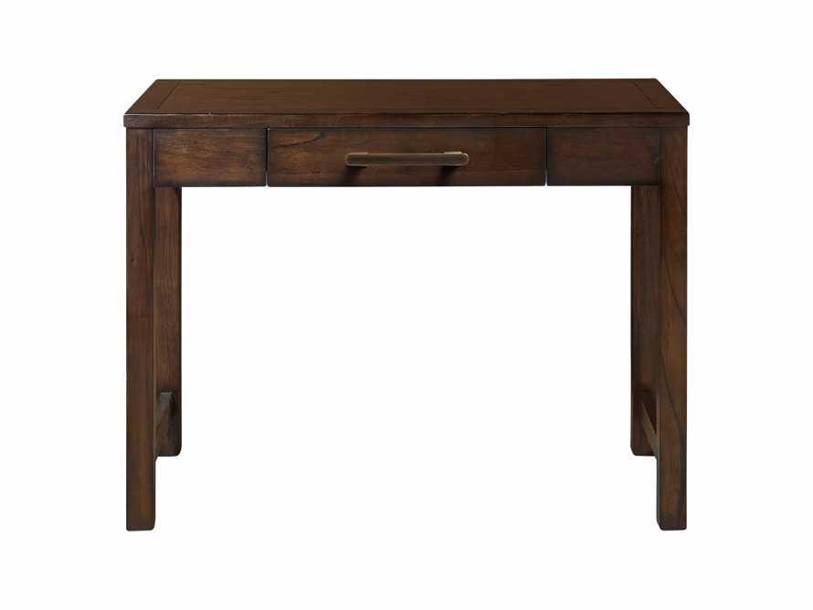 """Tremont Modular 40"""" Desk in Midnight Java"""