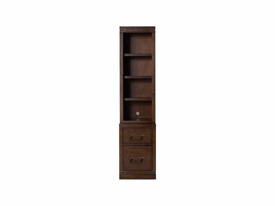 "Tremont Modular 20"" Bookcase in Midnight Java, slide 2 of 2"